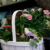 Planted Country Basket